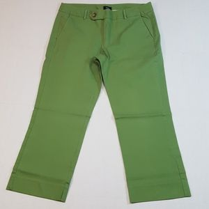 Mossimo Capri Pants Women's Size 14 Green